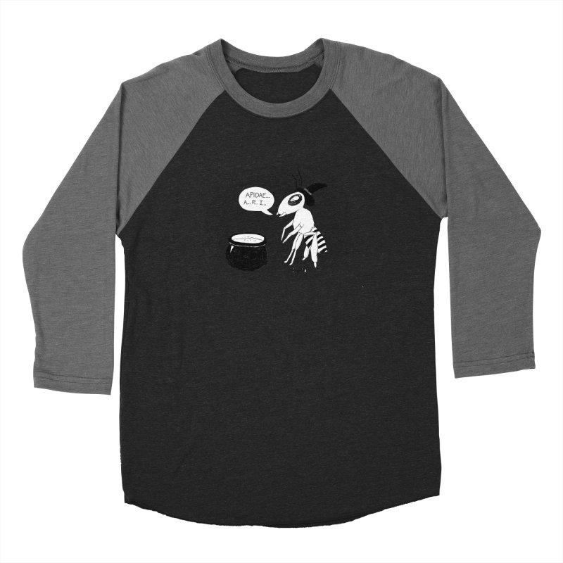 Spelling Bee Women's Baseball Triblend Longsleeve T-Shirt by busybee apparel