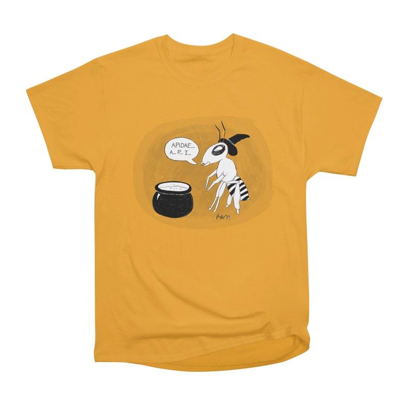 Spelling Bee Men's Heavyweight T-Shirt by busybee apparel
