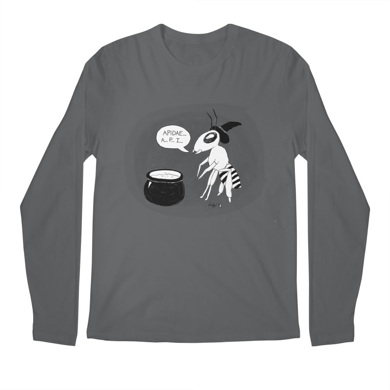 Spelling Bee Men's Regular Longsleeve T-Shirt by busybee apparel