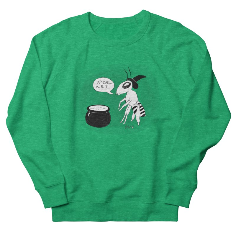 Spelling Bee Women's French Terry Sweatshirt by busybee apparel