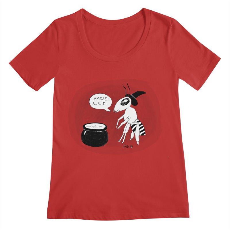 Spelling Bee Women's Regular Scoop Neck by busybee apparel