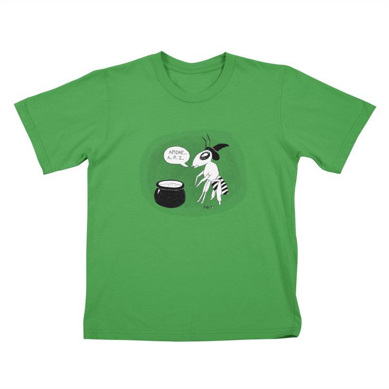 Spelling Bee Kids T-Shirt by busybee apparel