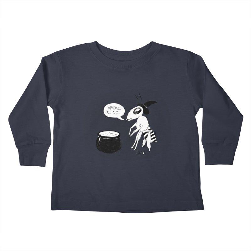 Spelling Bee Kids Toddler Longsleeve T-Shirt by busybee apparel