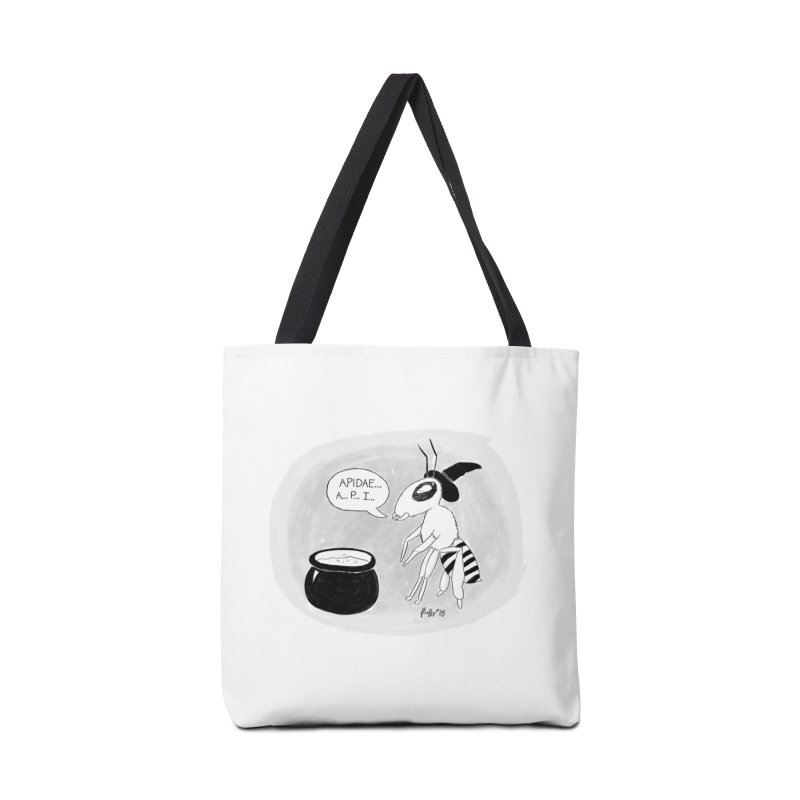 Spelling Bee Accessories Tote Bag Bag by busybee apparel
