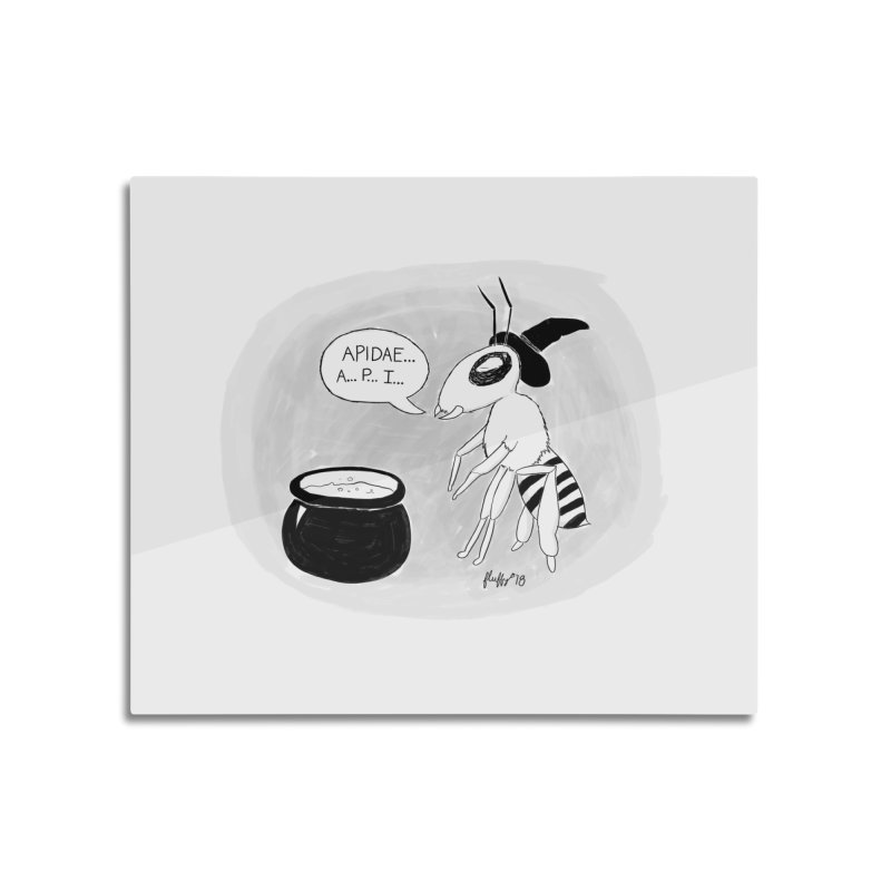 Spelling Bee Home Mounted Acrylic Print by busybee apparel