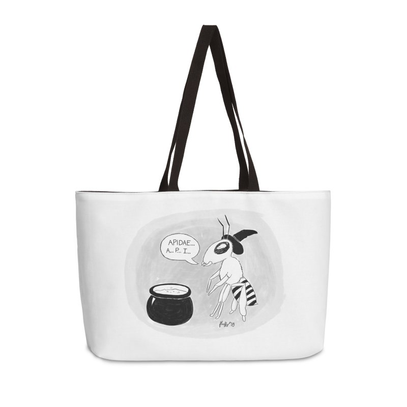 Spelling Bee Accessories Weekender Bag Bag by busybee apparel