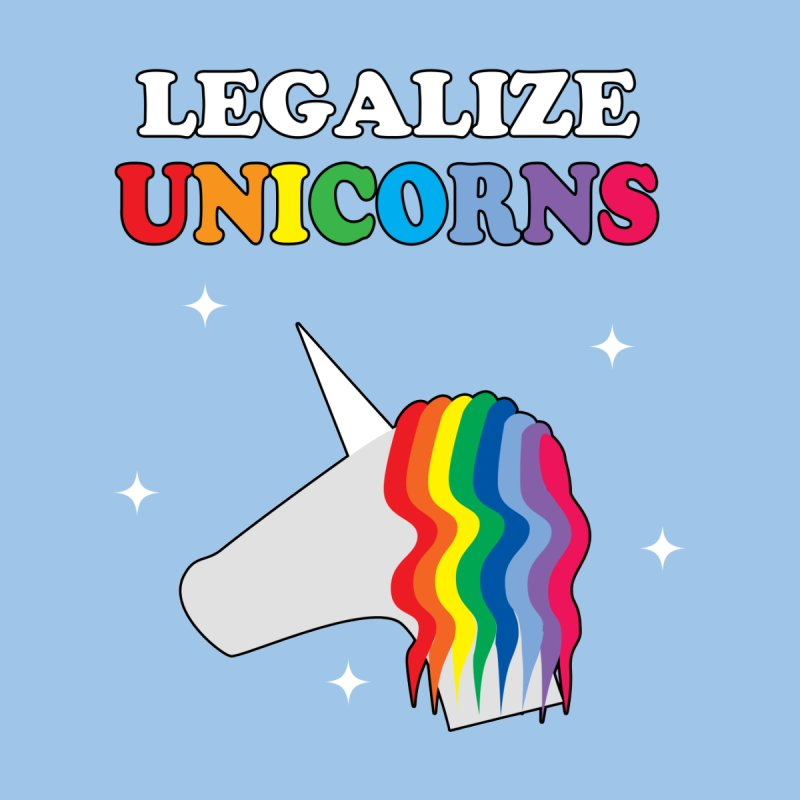 Legalize Unicorns Women's Scoop Neck by busybee apparel