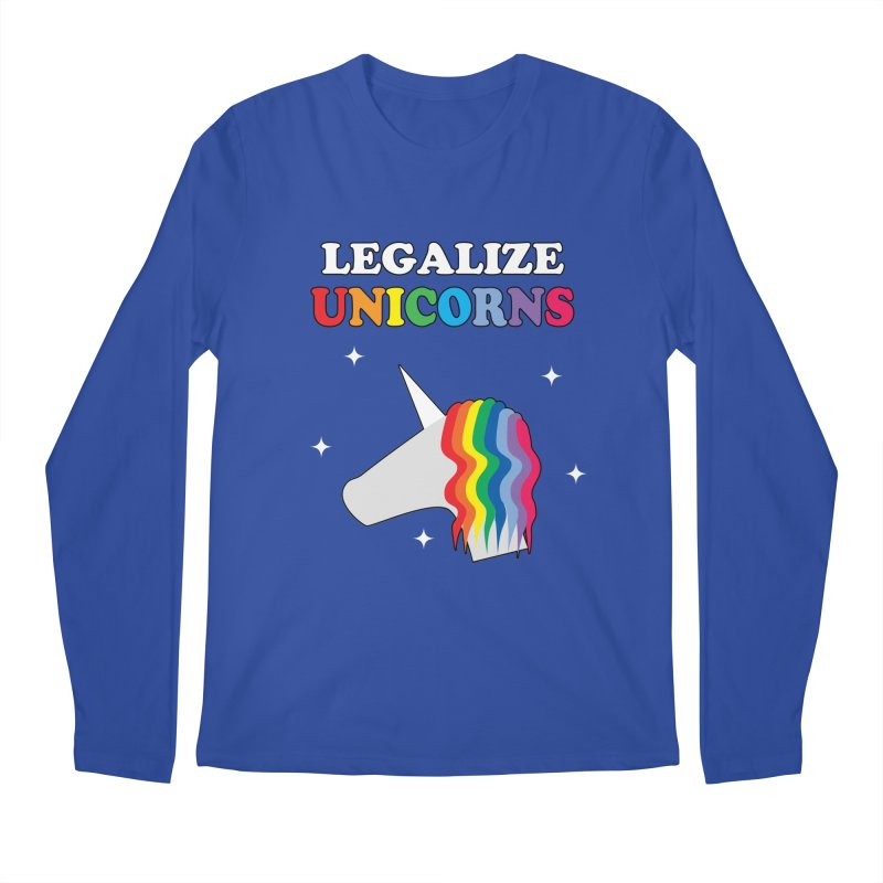 Legalize Unicorns Men's Regular Longsleeve T-Shirt by busybee apparel