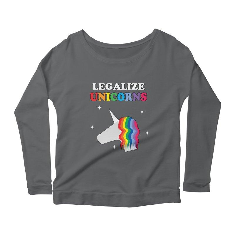 Legalize Unicorns Women's Longsleeve T-Shirt by busybee apparel