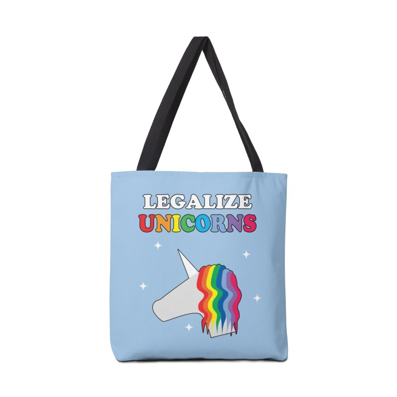 Legalize Unicorns Accessories Tote Bag Bag by busybee apparel