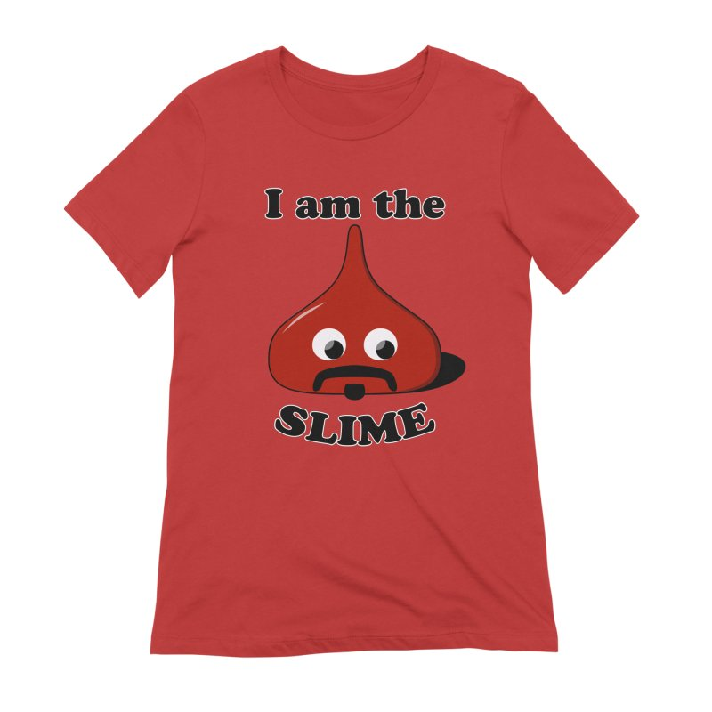 I Am The Slime Women's Extra Soft T-Shirt by busybee apparel