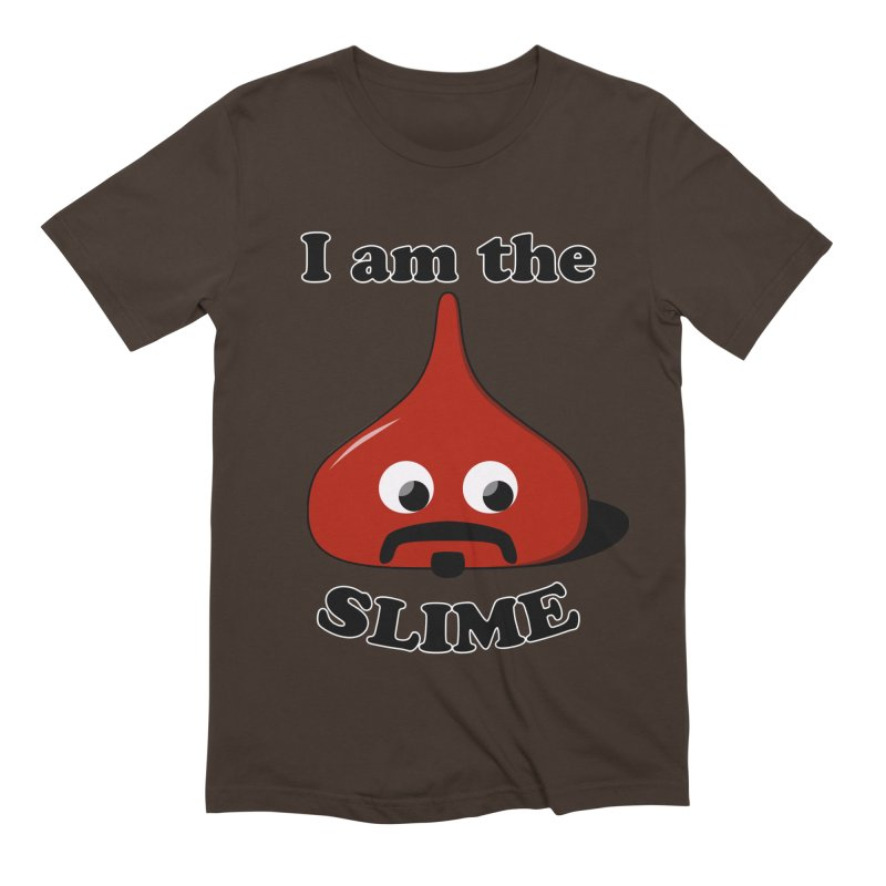 I Am The Slime Men's Extra Soft T-Shirt by busybee apparel