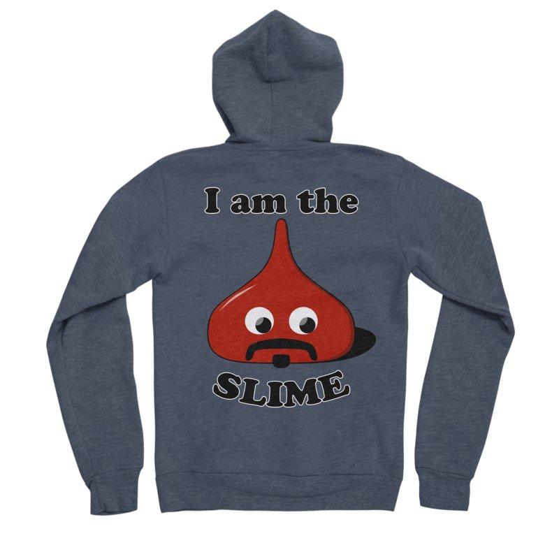 I Am The Slime Men's Sponge Fleece Zip-Up Hoody by busybee apparel