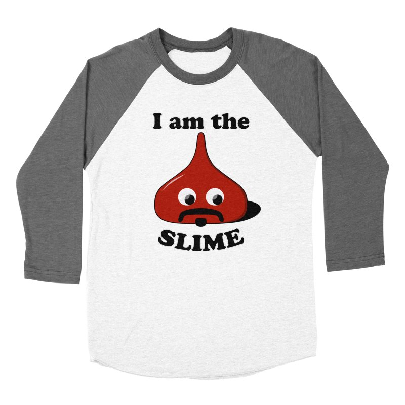 I Am The Slime Men's Baseball Triblend Longsleeve T-Shirt by busybee apparel
