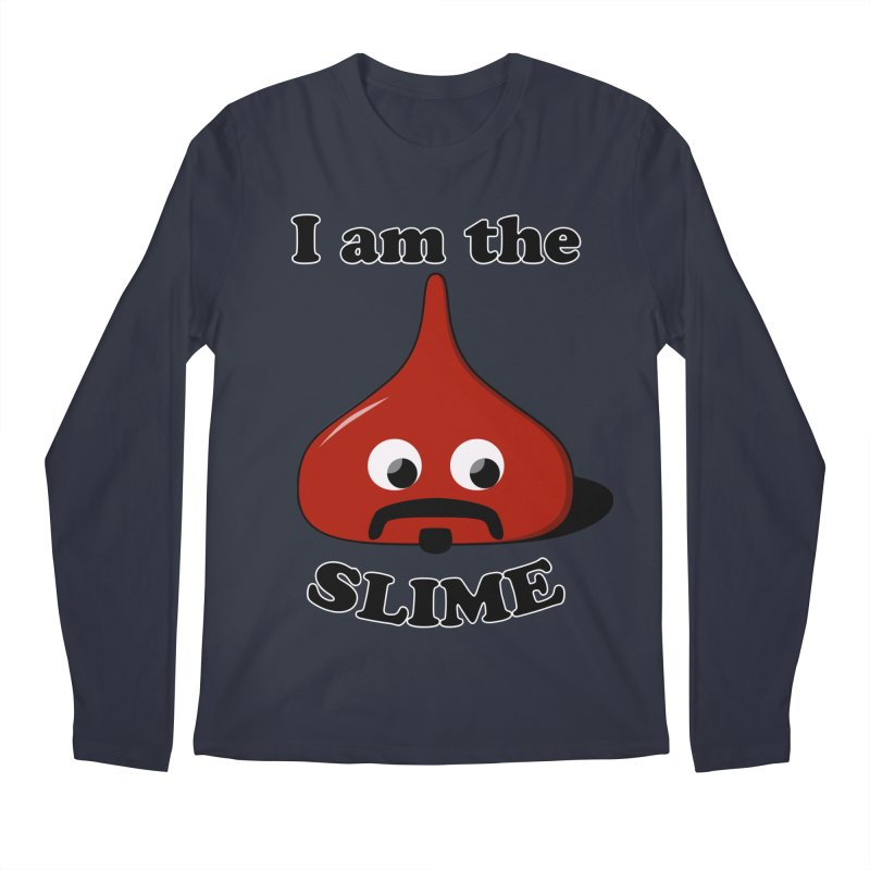 I Am The Slime Men's Regular Longsleeve T-Shirt by busybee apparel