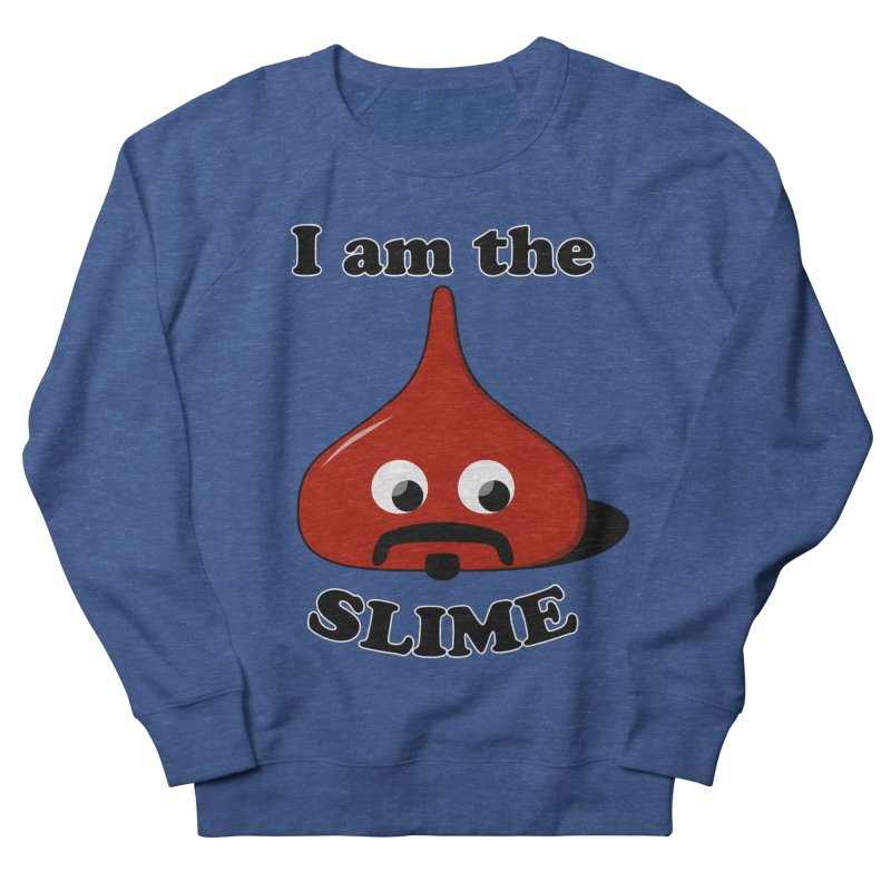 I Am The Slime Men's French Terry Sweatshirt by busybee apparel