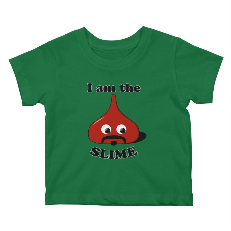 I Am The Slime Kids Baby T-Shirt by busybee apparel