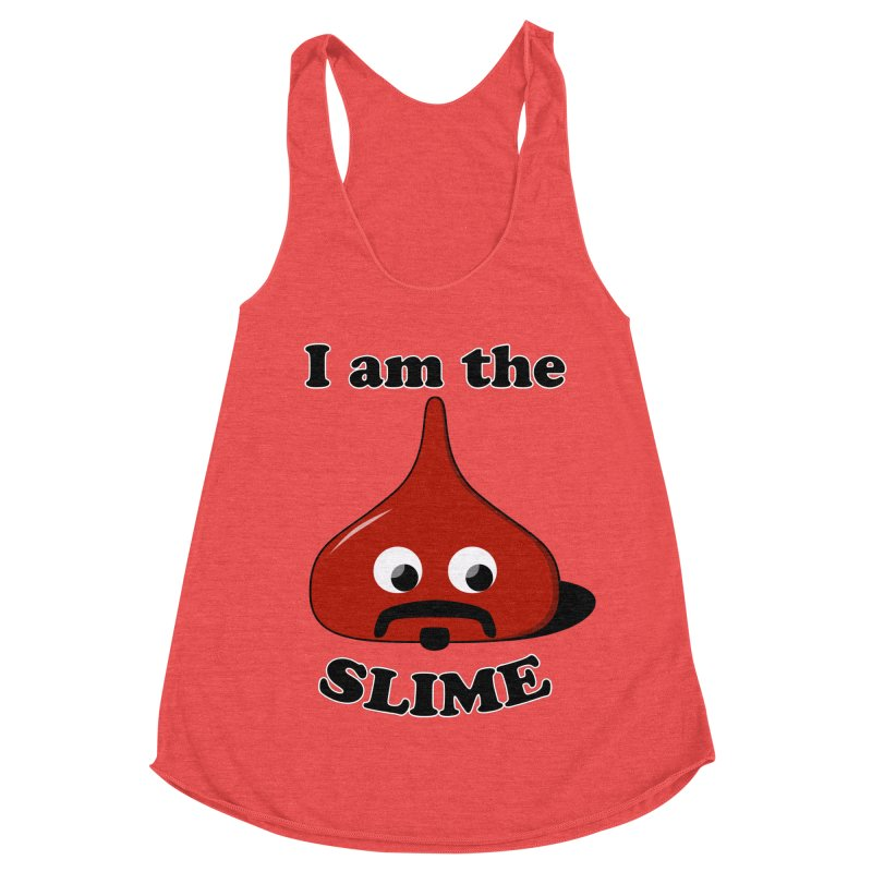 I Am The Slime Women's Racerback Triblend Tank by busybee apparel
