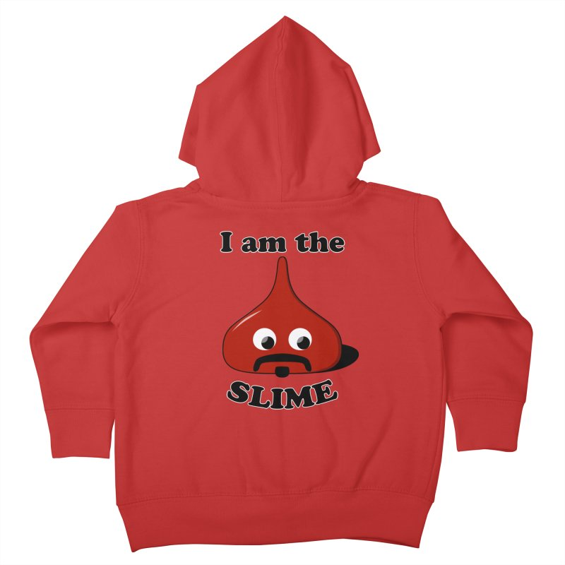 I Am The Slime Kids Toddler Zip-Up Hoody by busybee apparel