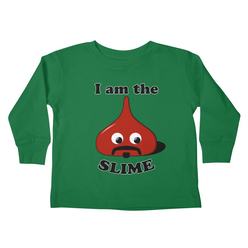 I Am The Slime Kids Toddler Longsleeve T-Shirt by busybee apparel