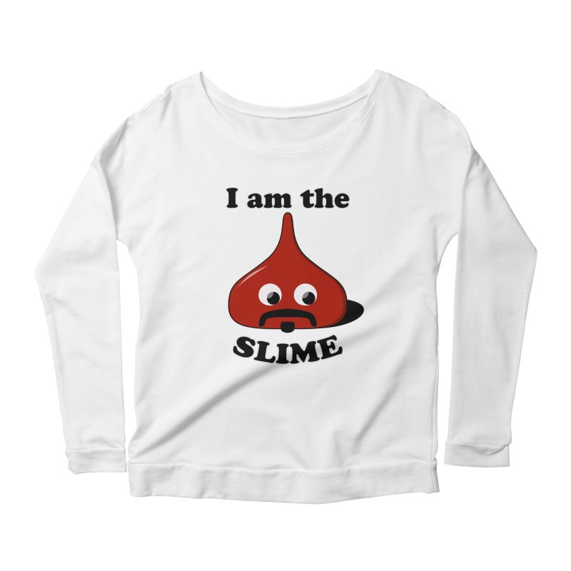 I Am The Slime Women's Scoop Neck Longsleeve T-Shirt by busybee apparel