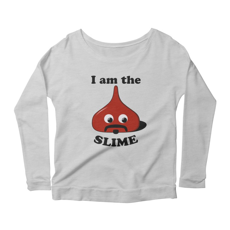 I Am The Slime Women's Scoop Neck Longsleeve T-Shirt by busybee apparel