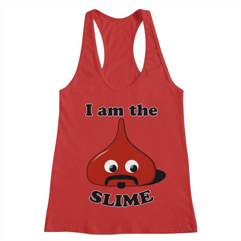 I Am The Slime Women's Racerback Tank by busybee apparel