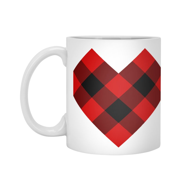 Plaid Life Accessories Standard Mug by busybee apparel