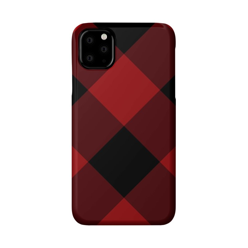 Plaid Life Accessories Phone Case by busybee apparel