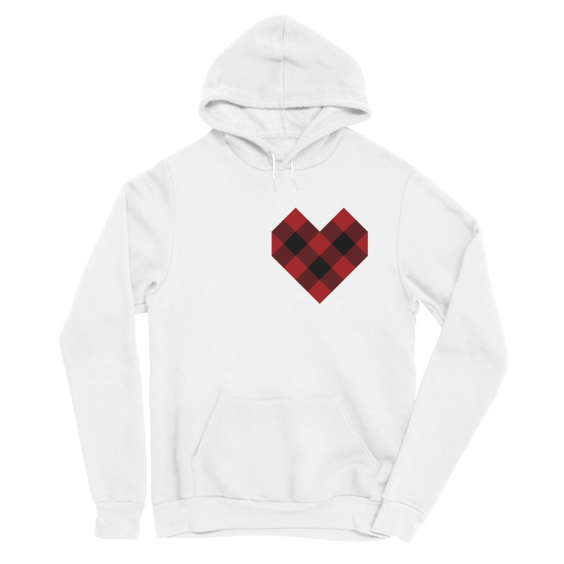 Plaid Life Women's Pullover Hoody by busybee apparel