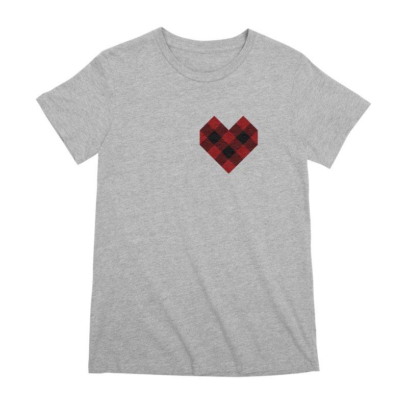 Plaid Life Women's Premium T-Shirt by busybee apparel