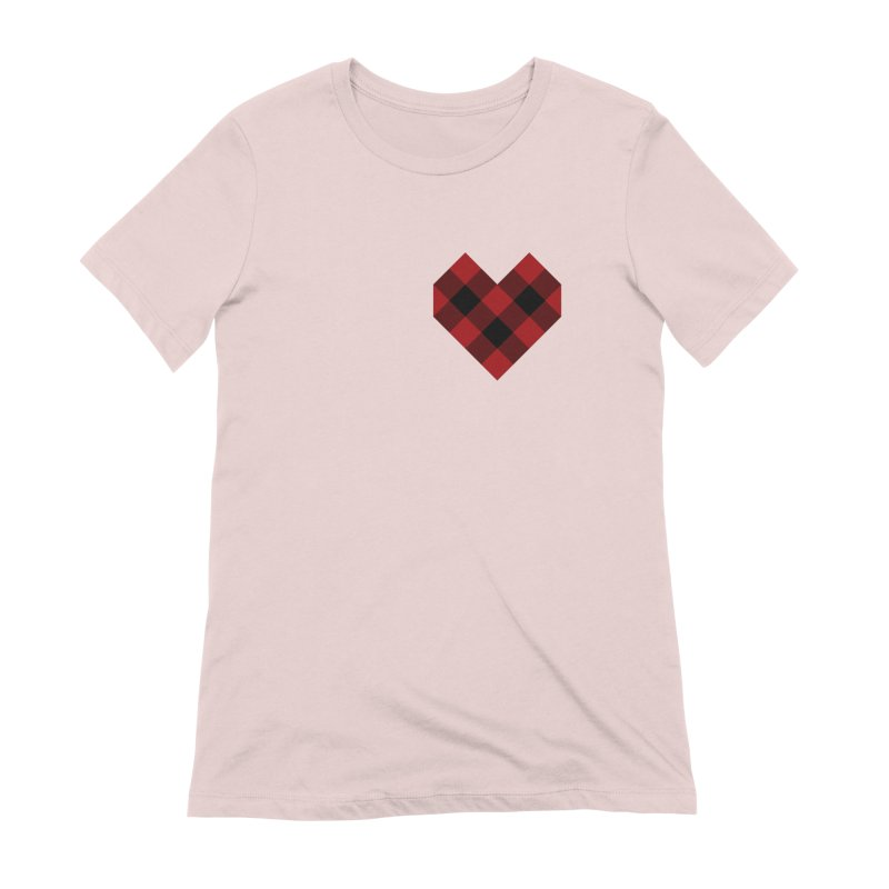 Plaid Life Women's Extra Soft T-Shirt by busybee apparel