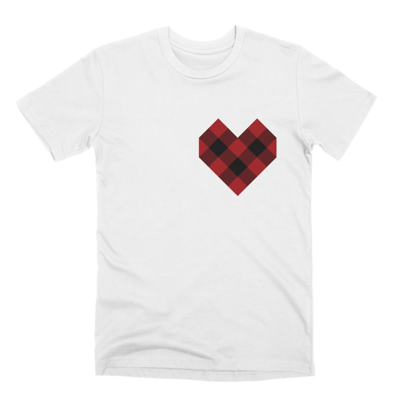 Plaid Life Men's Premium T-Shirt by busybee apparel