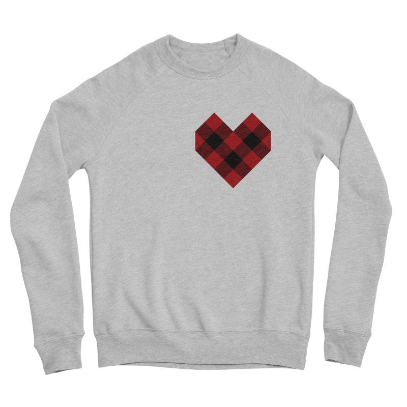 Plaid Life Women's Sponge Fleece Sweatshirt by busybee apparel