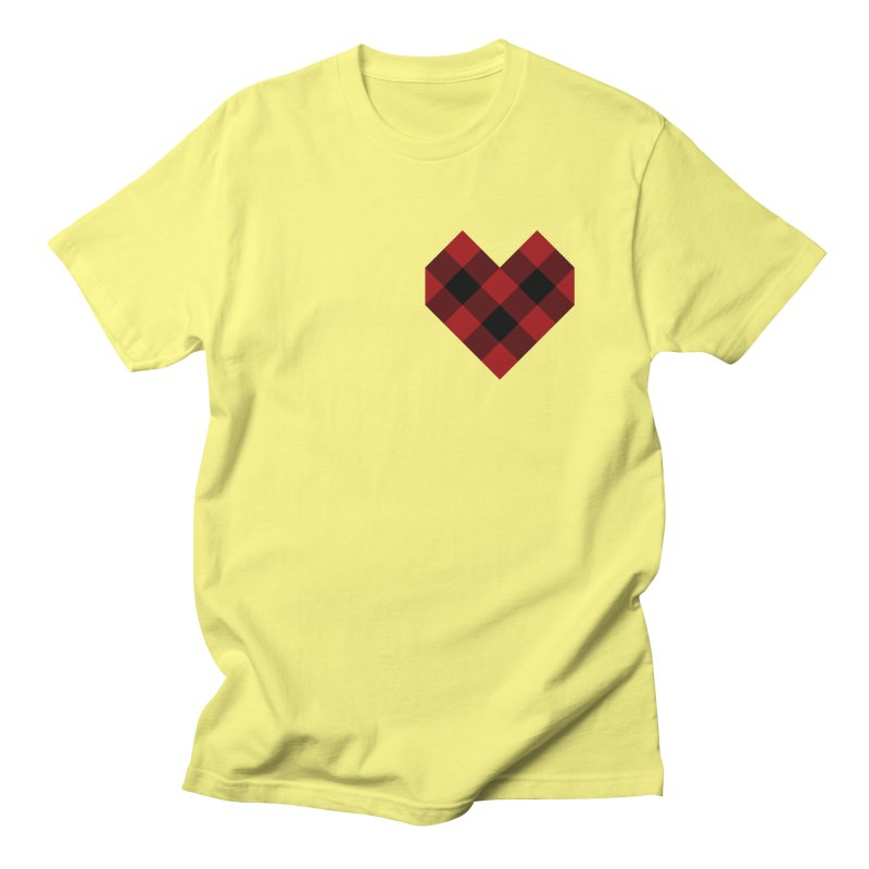 Plaid Life Men's T-Shirt by busybee apparel