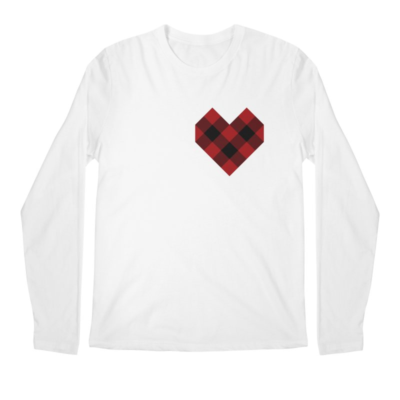 Plaid Life Men's Regular Longsleeve T-Shirt by busybee apparel