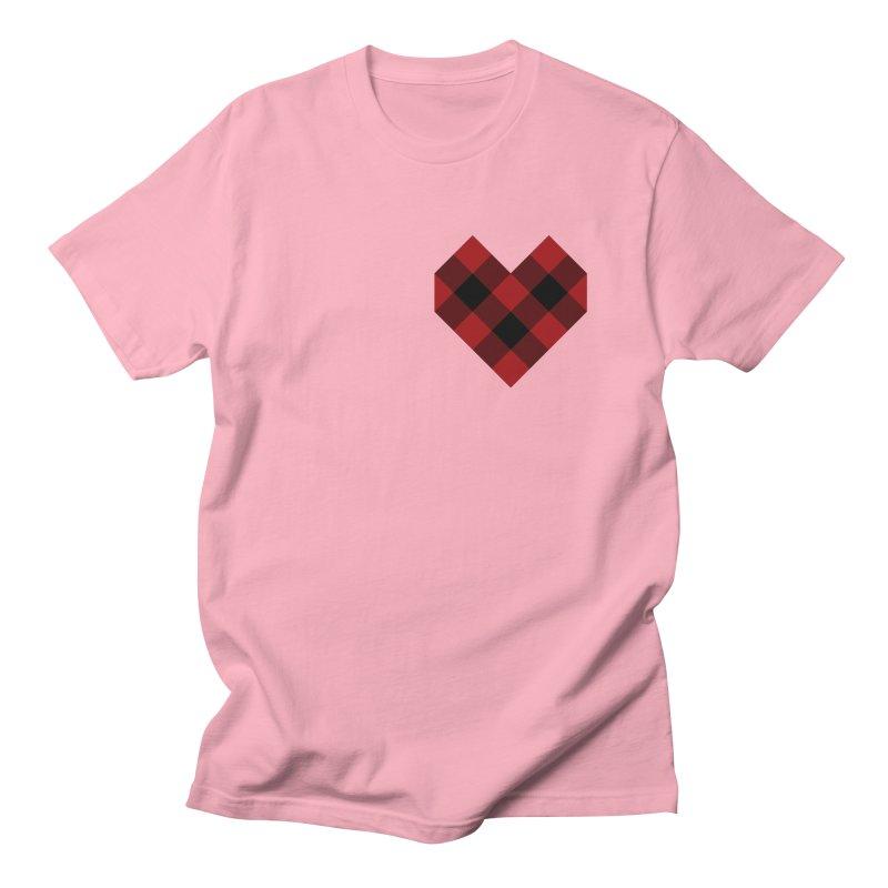 Plaid Life Women's Regular Unisex T-Shirt by busybee apparel