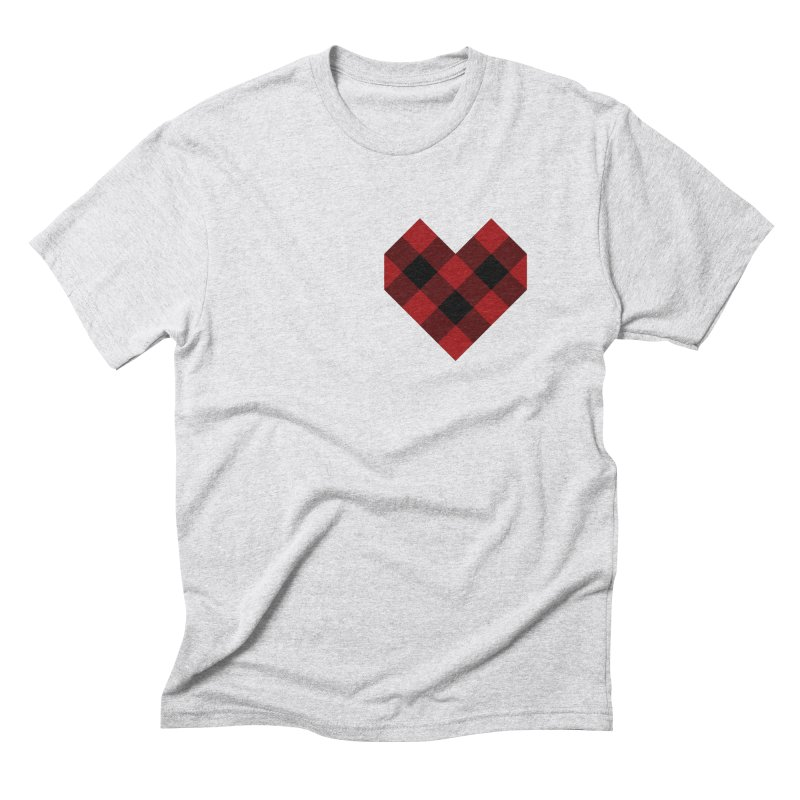 Plaid Life Men's Triblend T-Shirt by busybee apparel