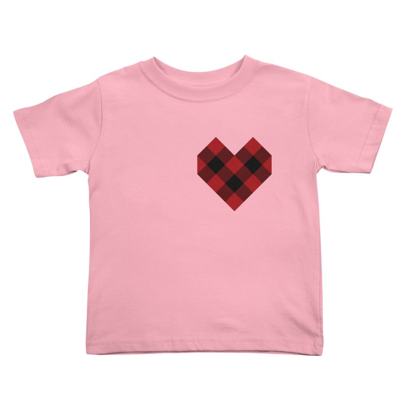 Plaid Life Kids Toddler T-Shirt by busybee apparel