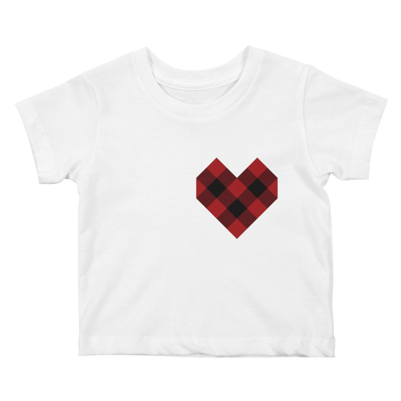 Plaid Life Kids Baby T-Shirt by busybee apparel