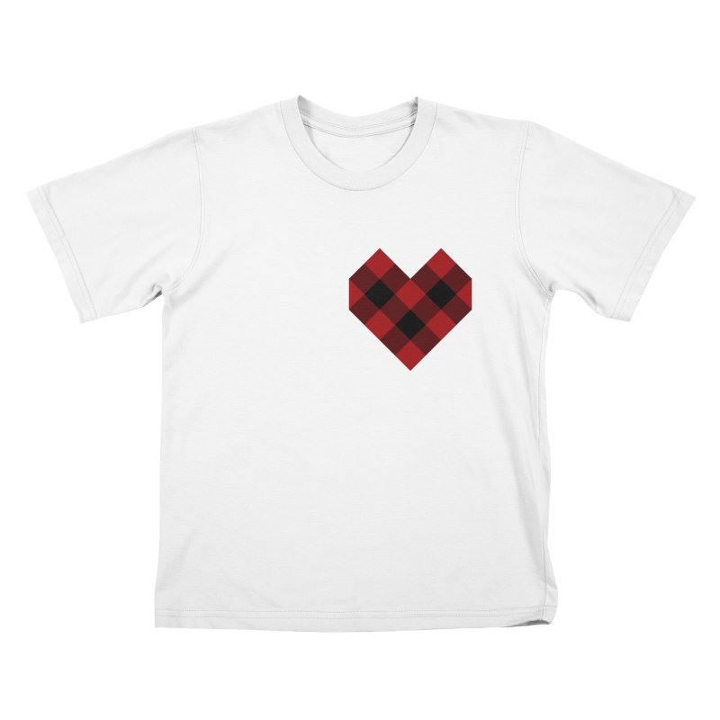 Plaid Life Kids T-Shirt by busybee apparel