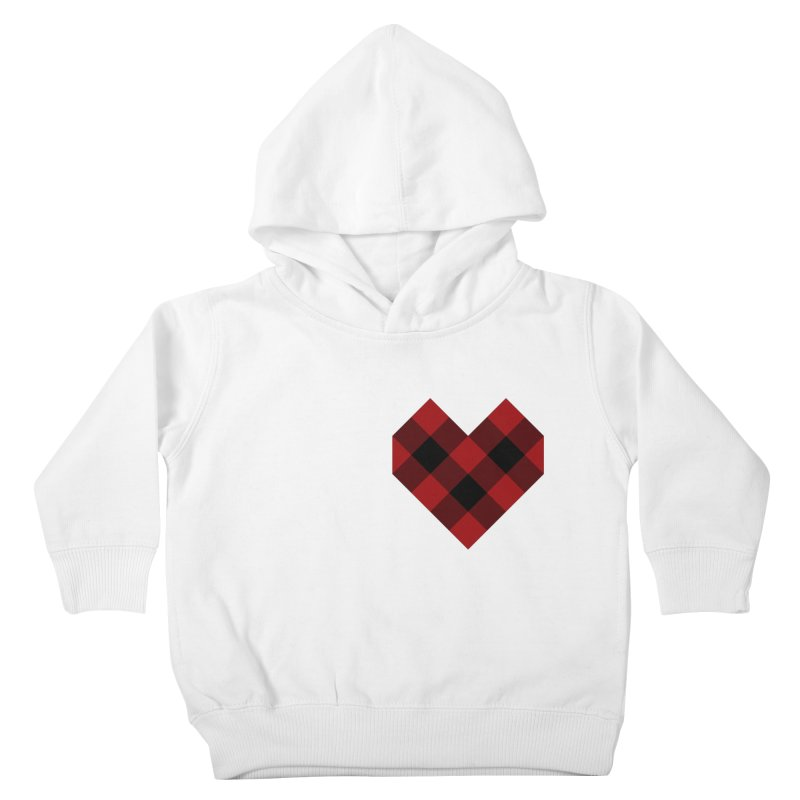 Plaid Life Kids Toddler Pullover Hoody by busybee apparel