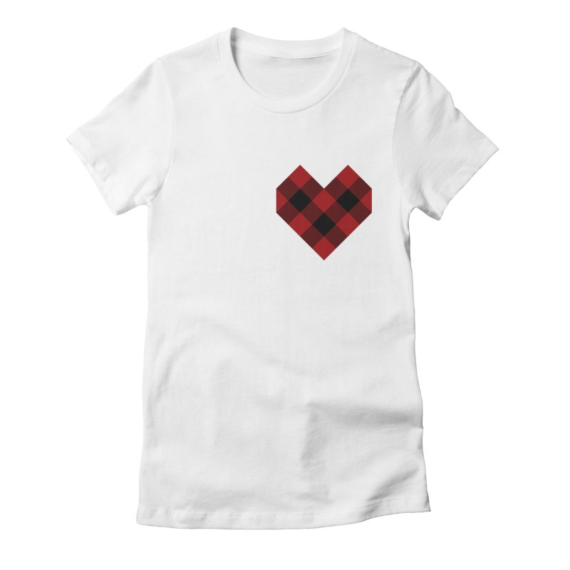 Plaid Life Women's T-Shirt by busybee apparel
