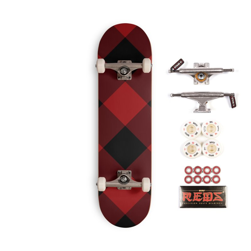 Plaid Life Accessories Complete - Pro Skateboard by busybee apparel