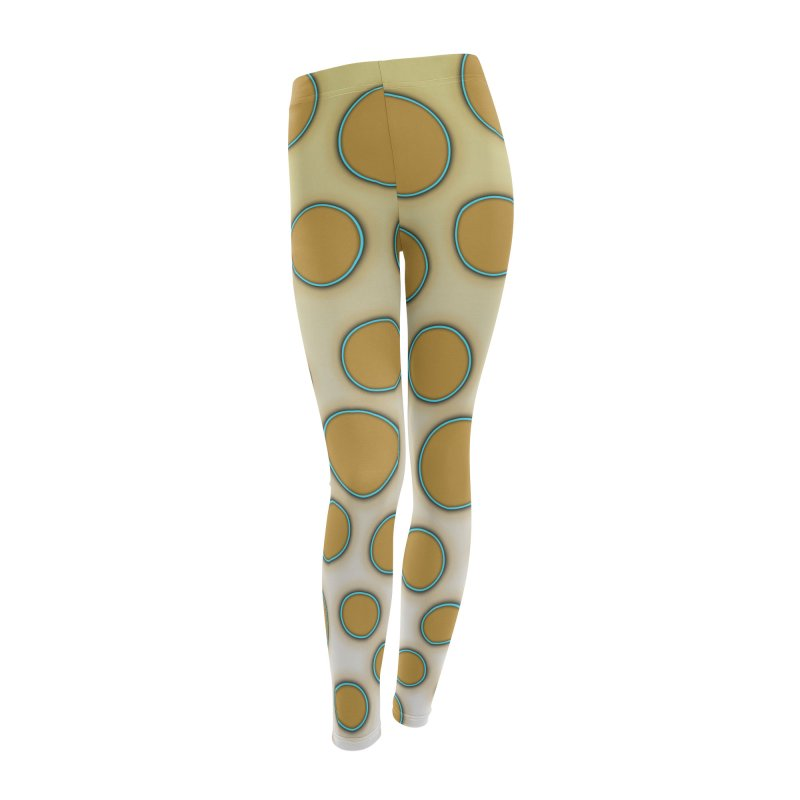 Blue-Ringed Octopus in Women's Leggings Bottoms by busybee apparel