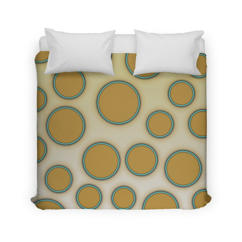 Blue-Ringed Octopus Home Duvet by busybee apparel