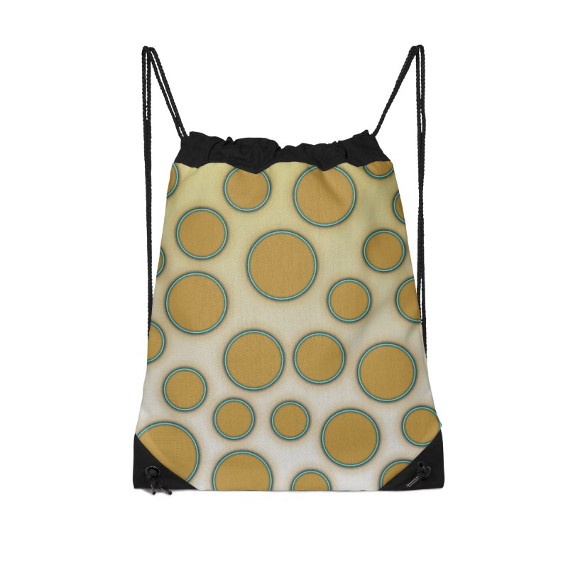 Blue-Ringed Octopus Accessories Drawstring Bag Bag by busybee apparel