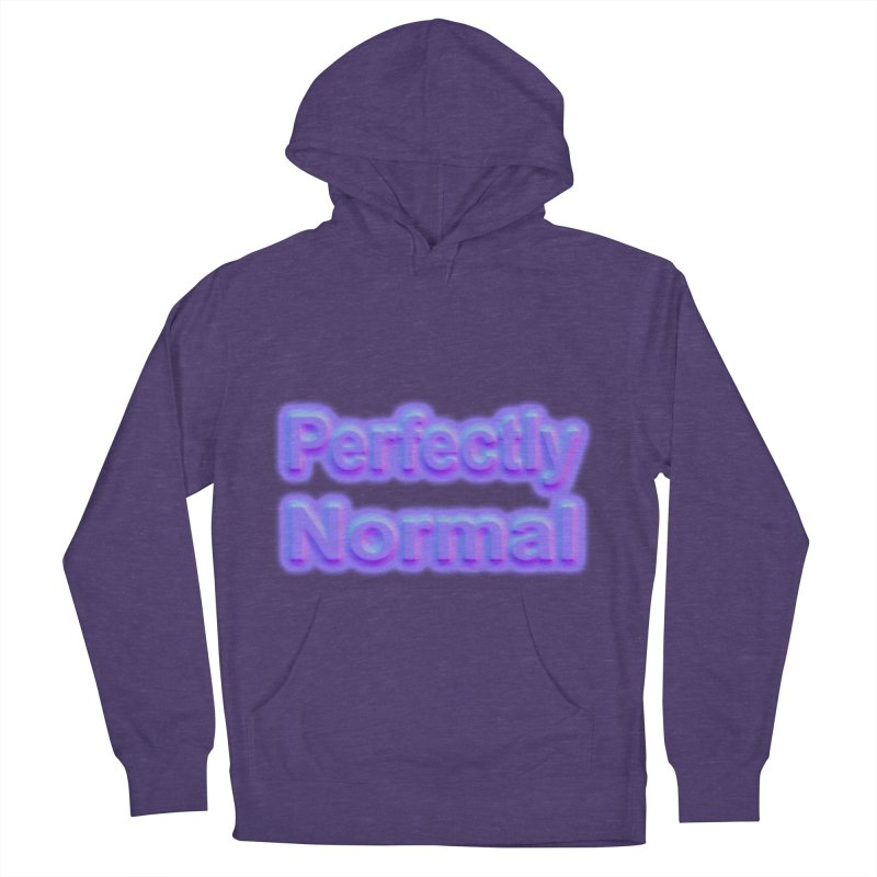 Perfectly Normal Women's French Terry Pullover Hoody by busybee apparel