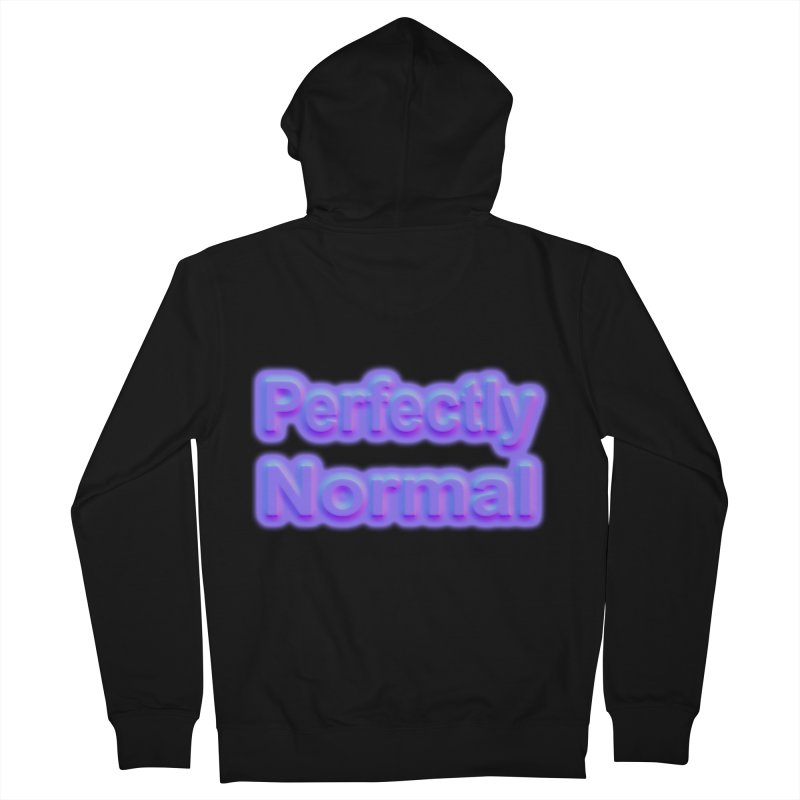 Perfectly Normal Women's French Terry Zip-Up Hoody by busybee apparel