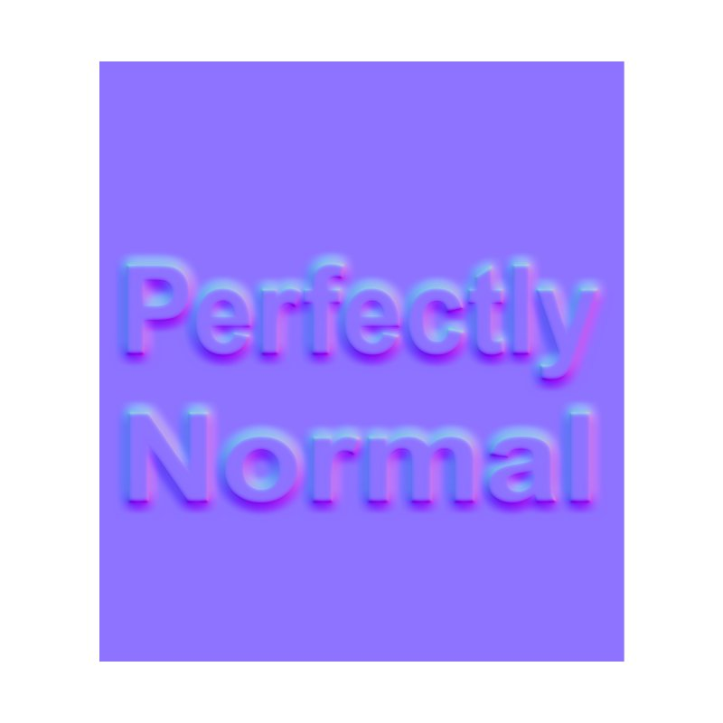 Perfectly Normal Accessories Zip Pouch by busybee apparel